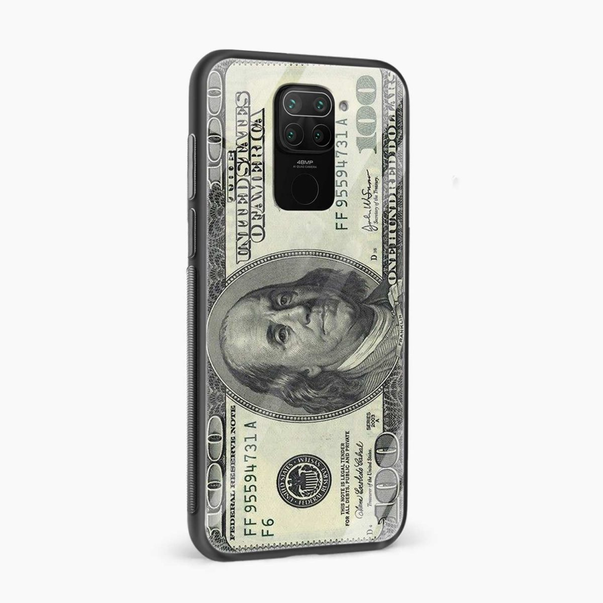 dollar side view redmi note 9 back cover