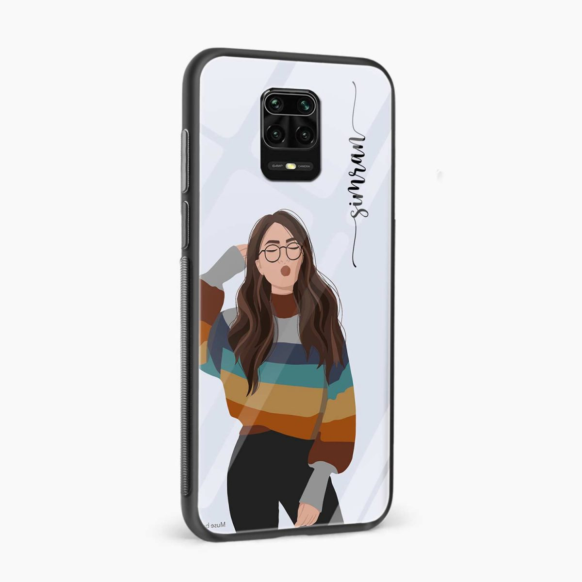 its me side view redmi note9 back cover
