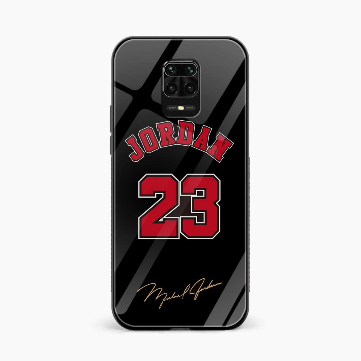 jordan 23 front view redmi note9 back cover