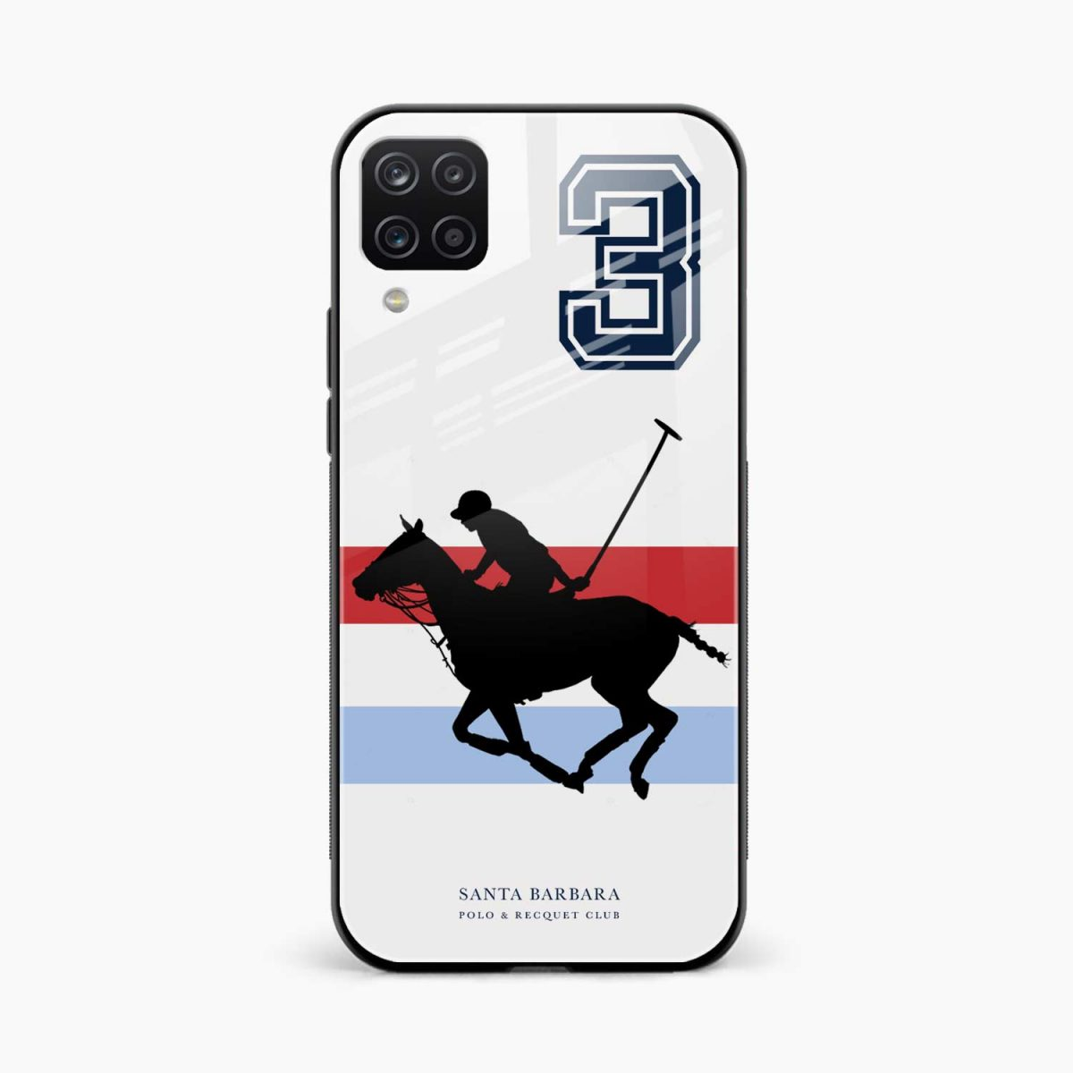 sant barbara polo front view samsung galaxy a12 back cover