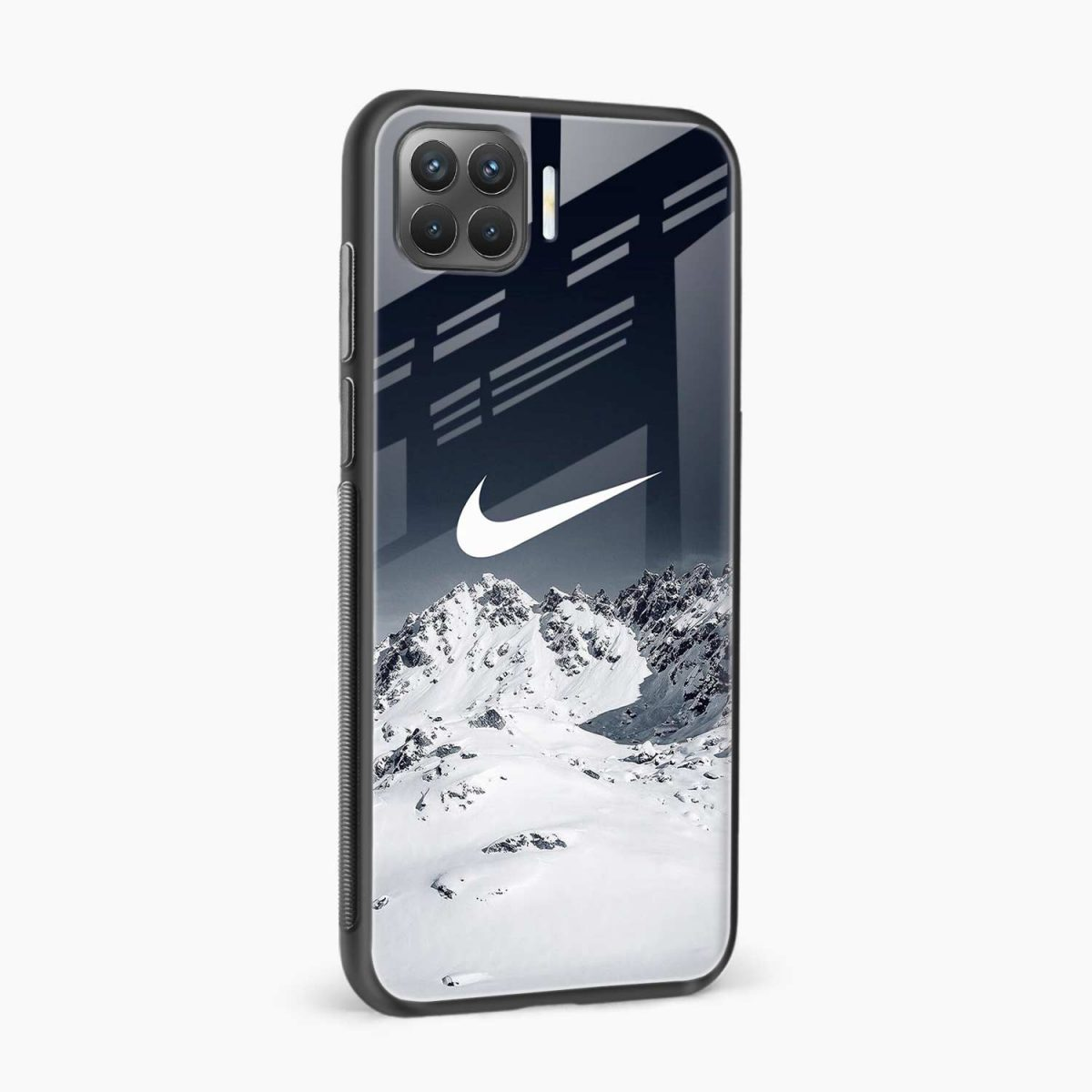 nike mountains side view oppo f17 pro back cove