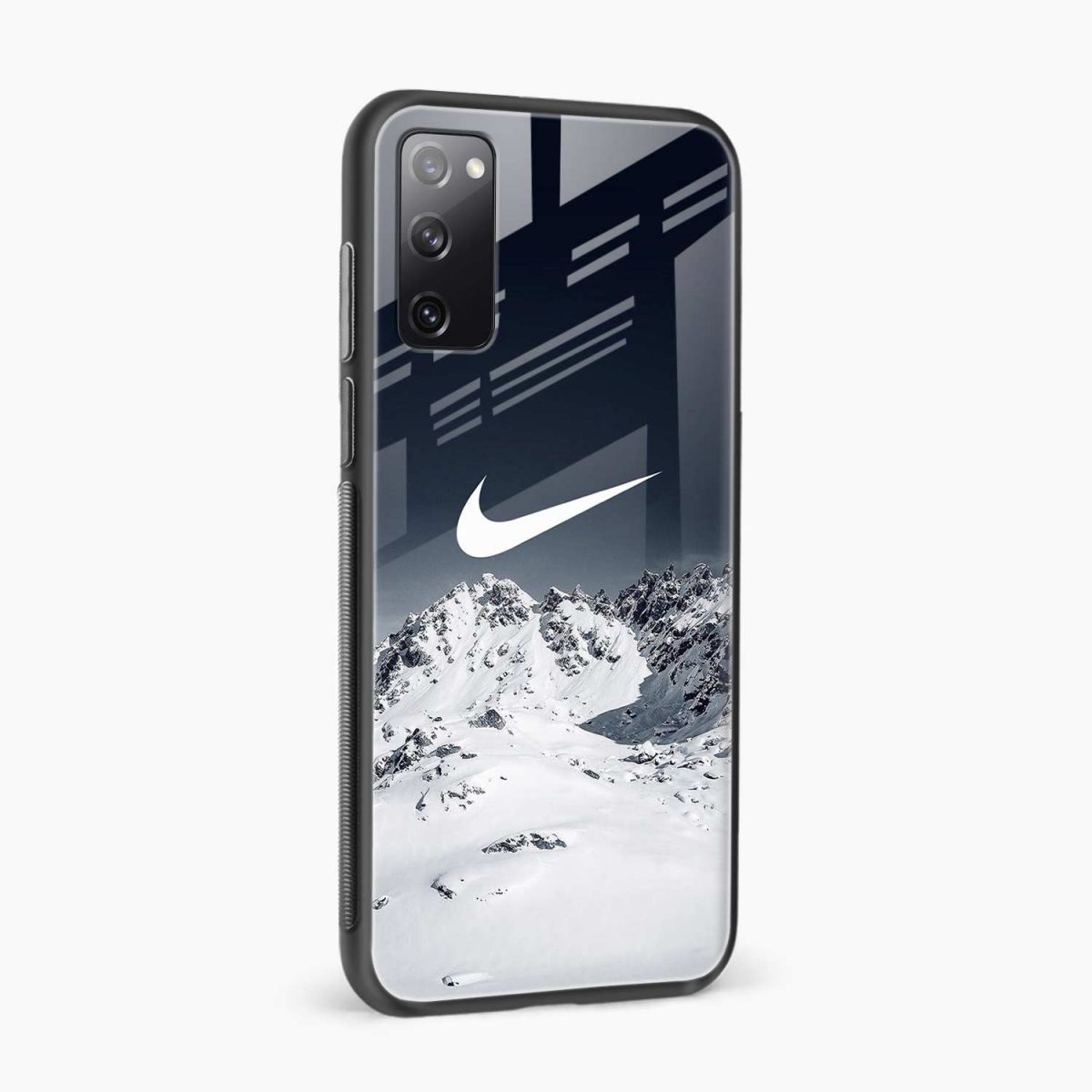 nike mountains side view samsung galaxy s20 fe back cover