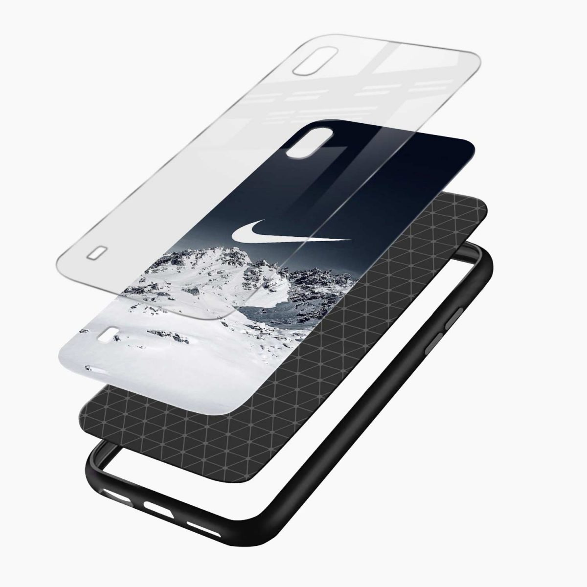 nike mountains layers view samsung galaxy a10 back cover