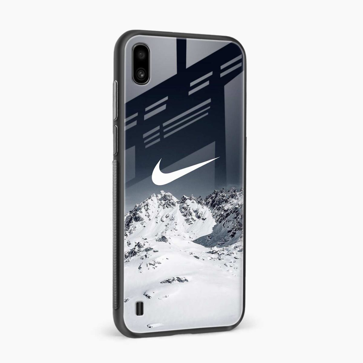 nike mountains side view samsung galaxy a10 back cover