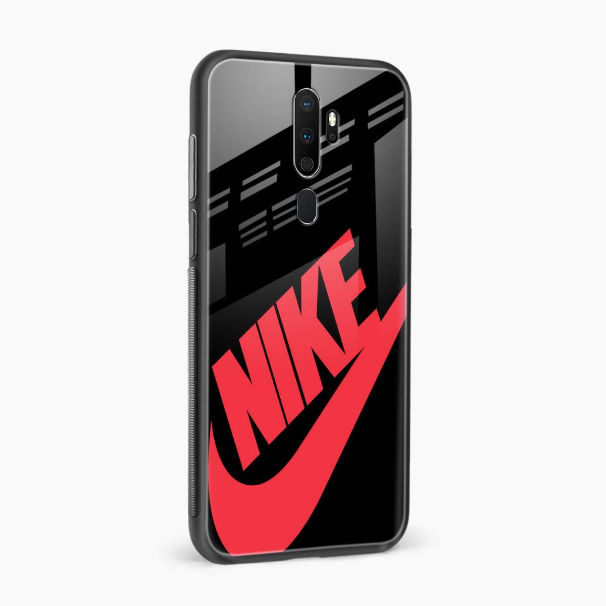 big red nike side view oppo a5 back cover