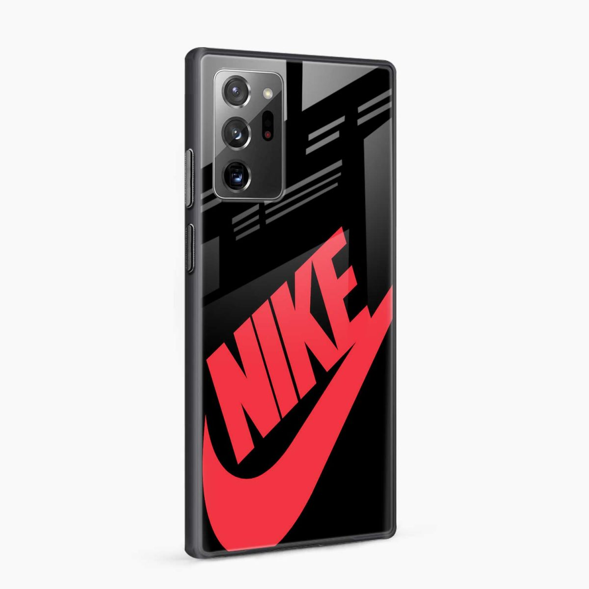 big red nike side view samsung galaxy note20 ultra back cover