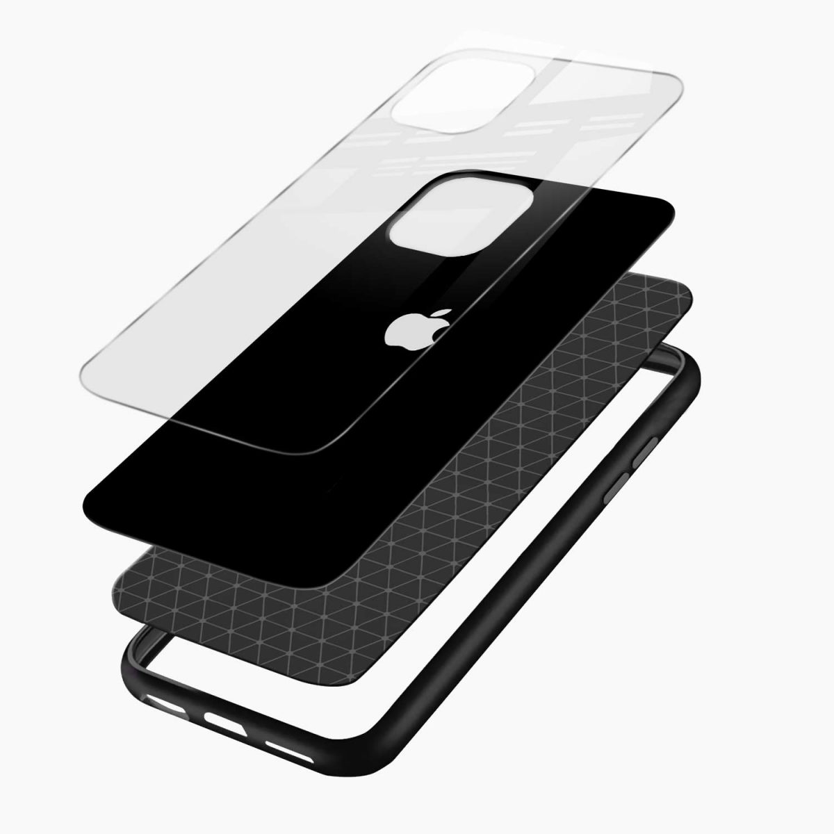 simply elegant iphone pro back cover layers view
