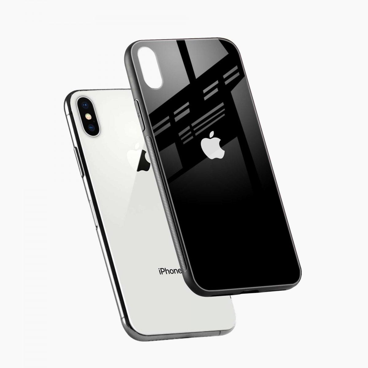 simply elegant diagonal view apple iphone x xs max back cover