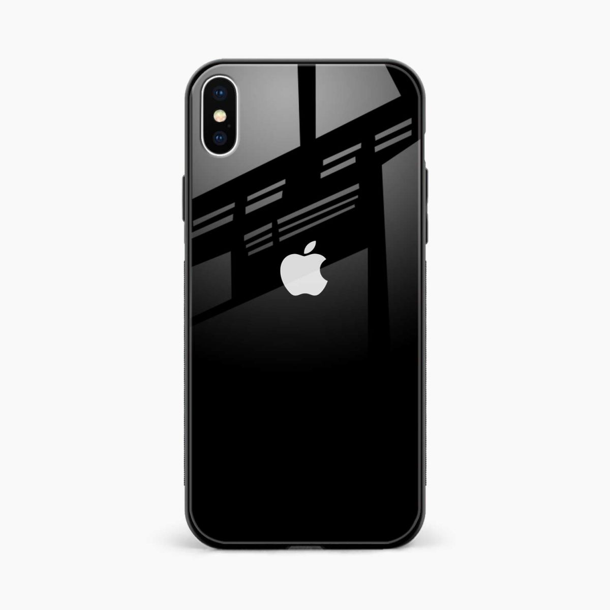 simply elegant front view apple iphone x xs max back cover