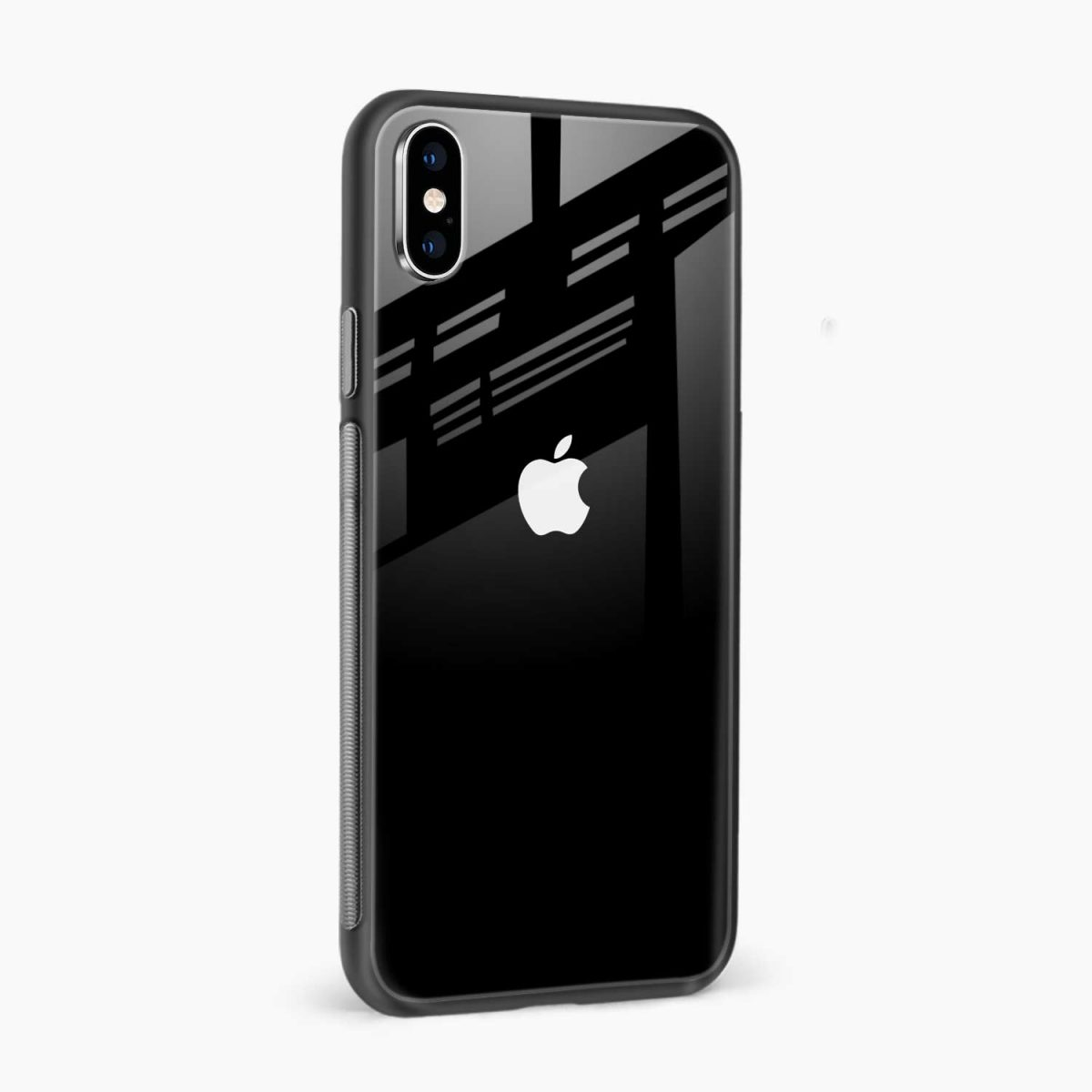 simply elegant side view apple iphone x xs max back cover