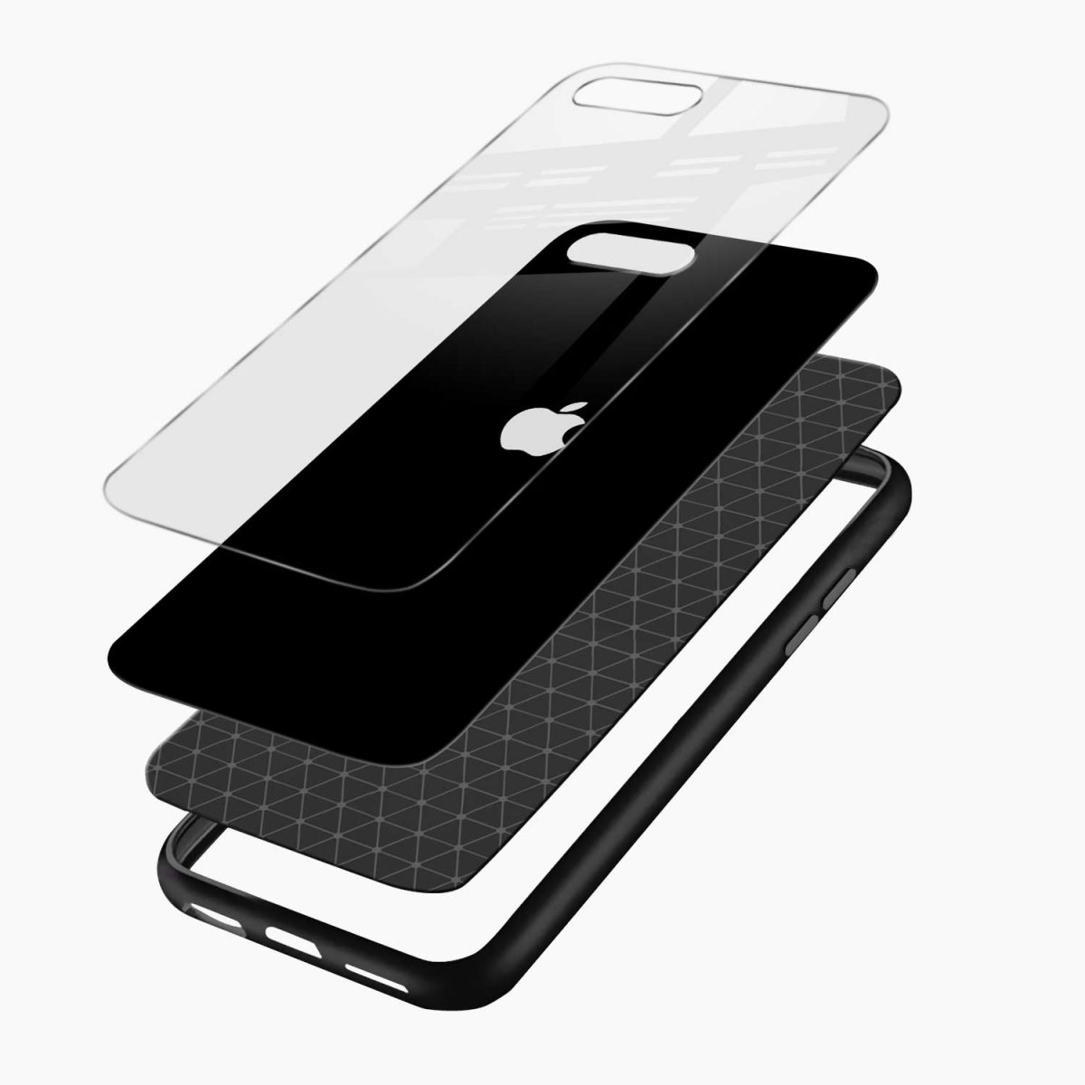 simply elegant layers view apple iphone 7 8 plus back cover