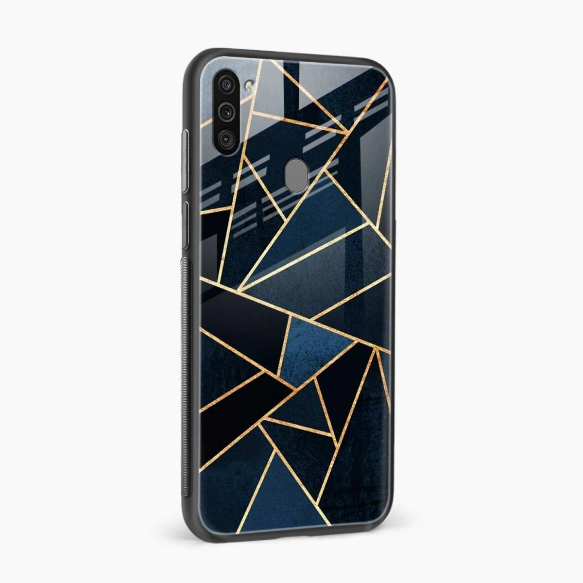 zig zag pattern side view samsung galaxy m11 back cover