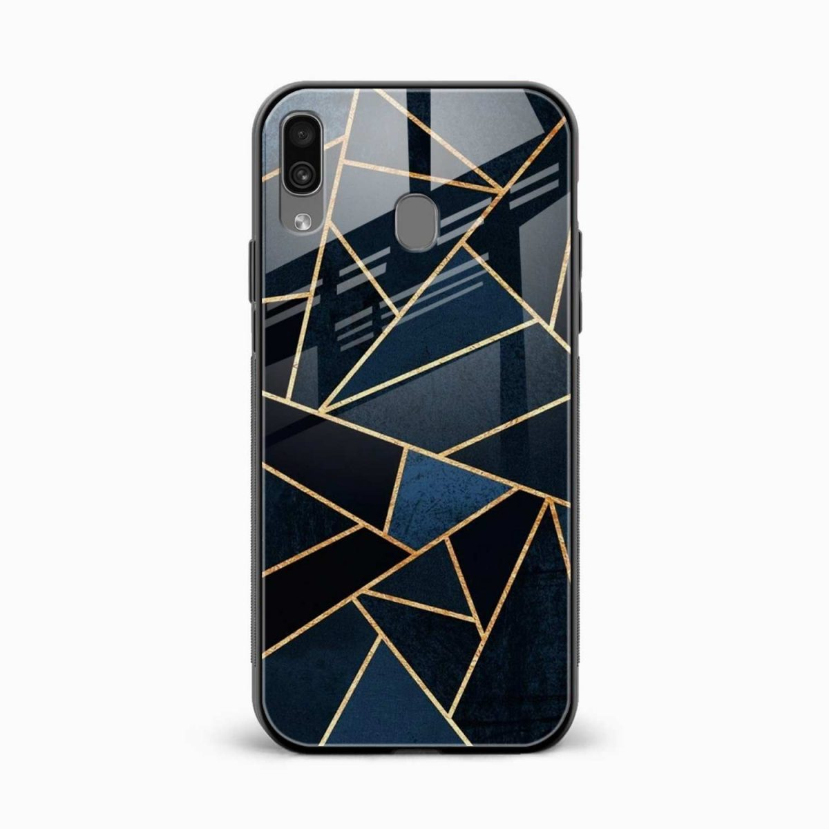 zig zag pattern front view samsung galaxy a30 back cover