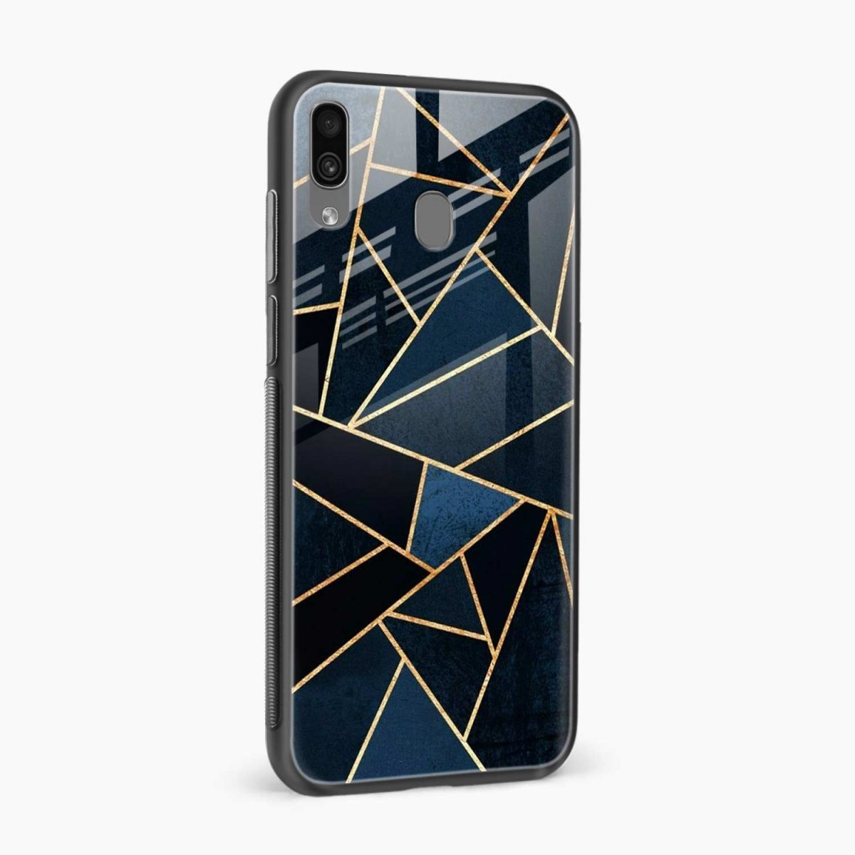 zig zag pattern side view samsung galaxy a30 back cover