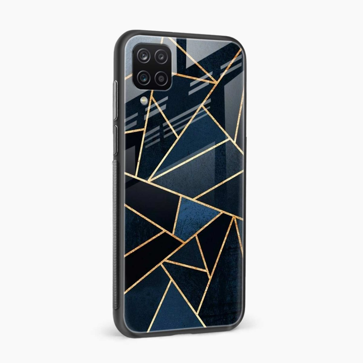 zig zag pattern side view samsung galaxy a12 back cover