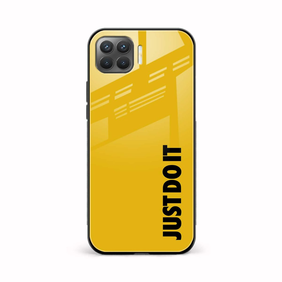 just do it front view oppo f17 pro back cover