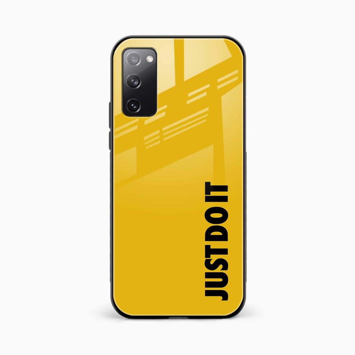 just do it front view samsung galaxy s20 fe back cover