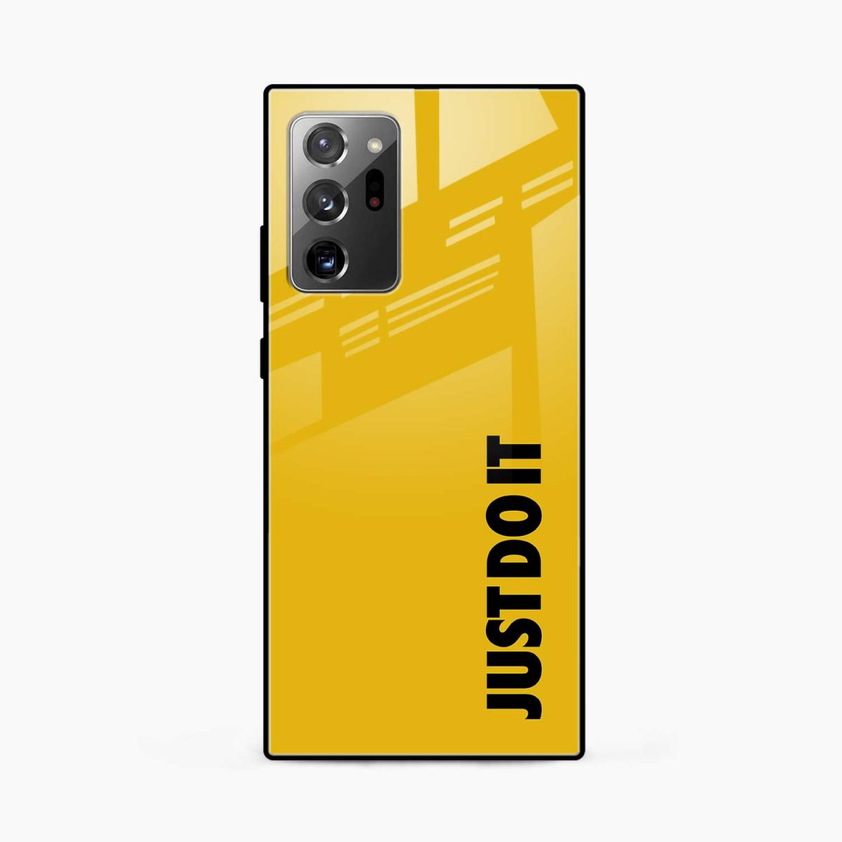 just do it front view samsung galaxy note20 ultra back cover
