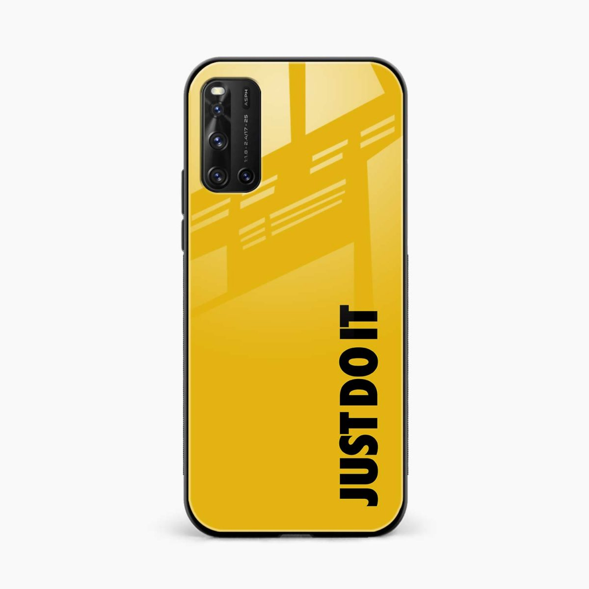 just do it front view vivo v19 back cover