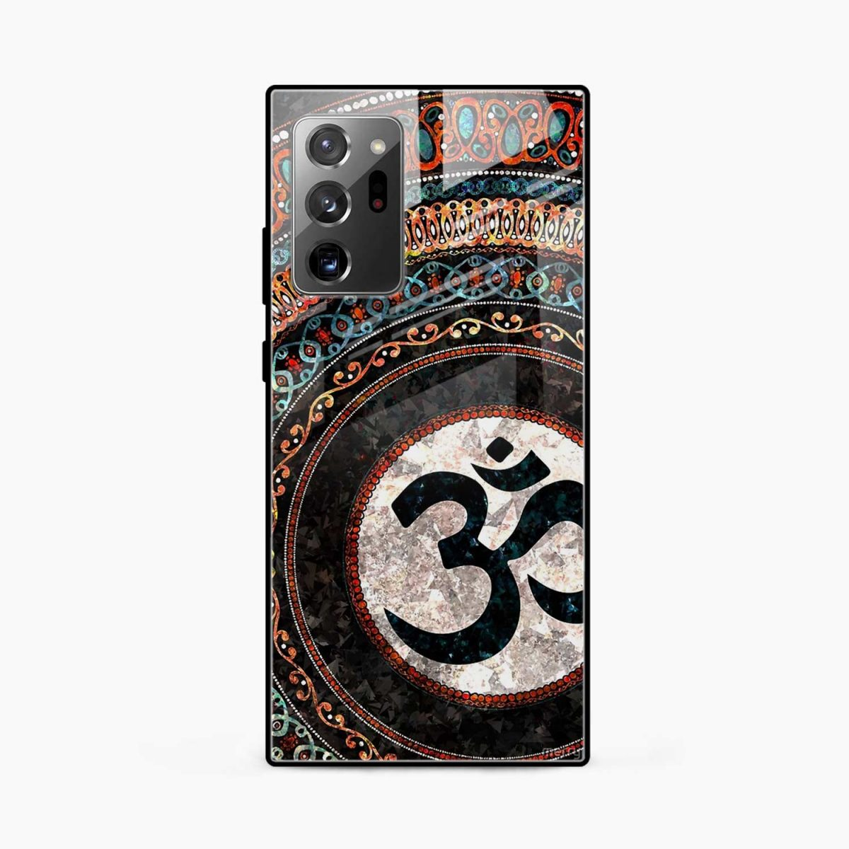 om glass front view samsung galaxy note20 ultra back cover