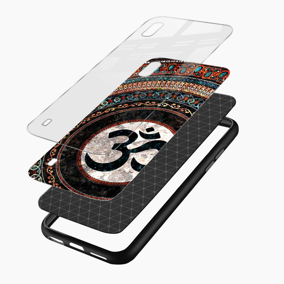 om glass layers view samsung galaxy a10 back cover