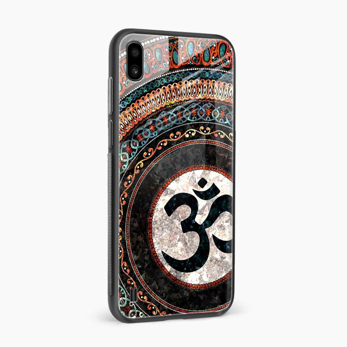om glass side view samsung galaxy a10 back cover