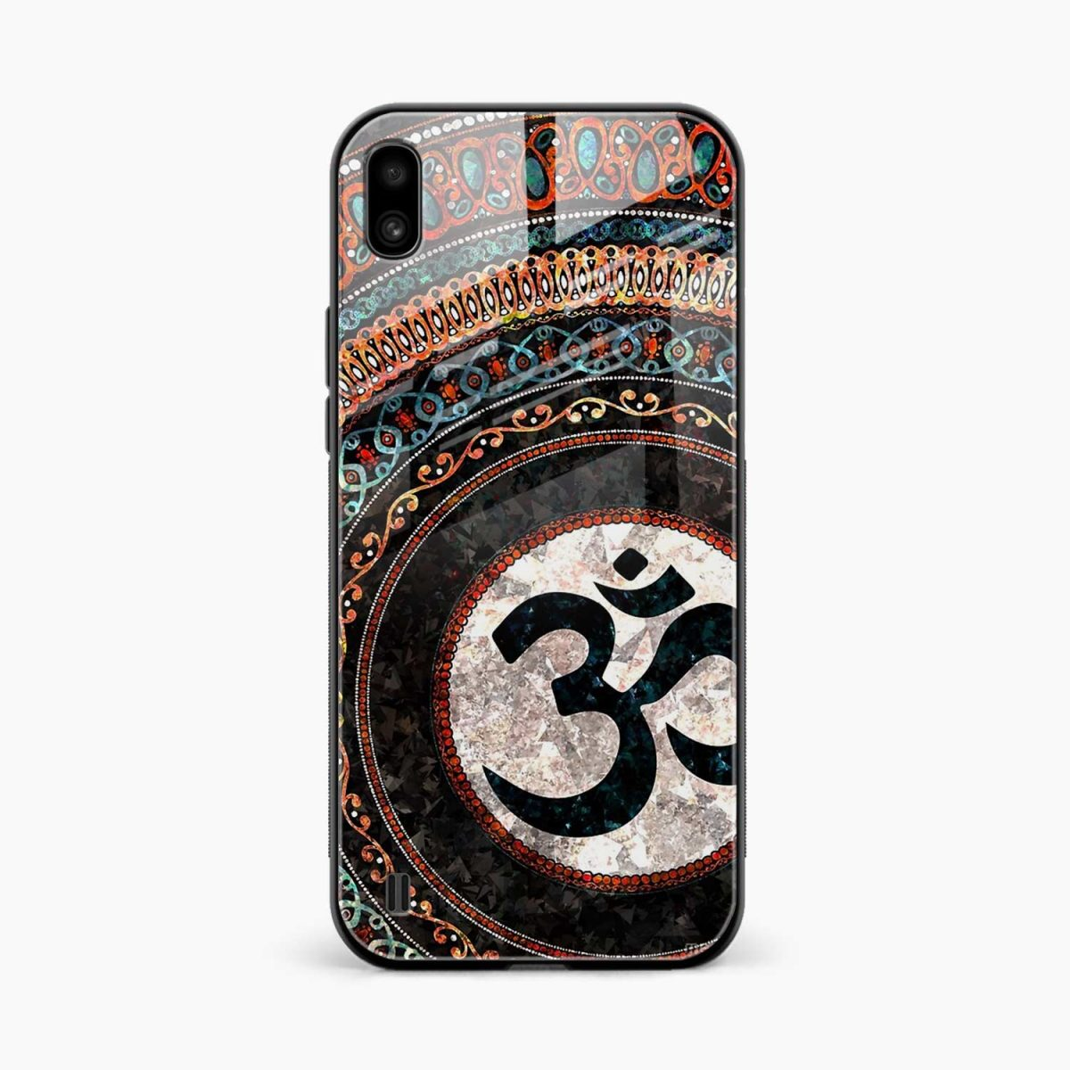 om glass front view samsung galaxy a10 back cover