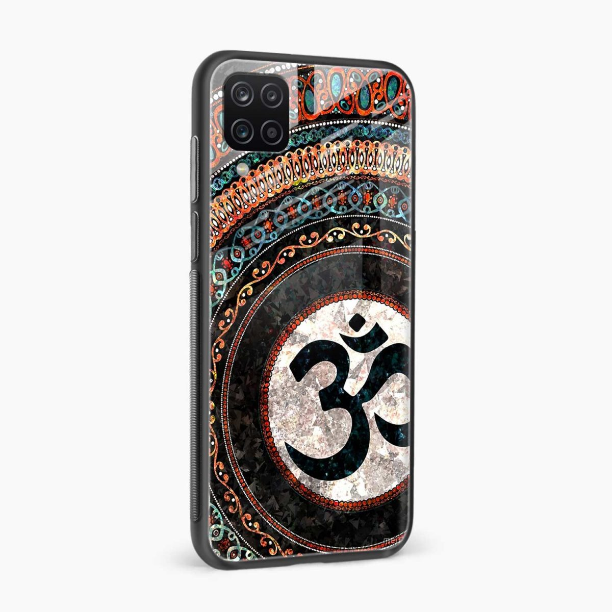 om glass side view samsung galaxy a12 back cover