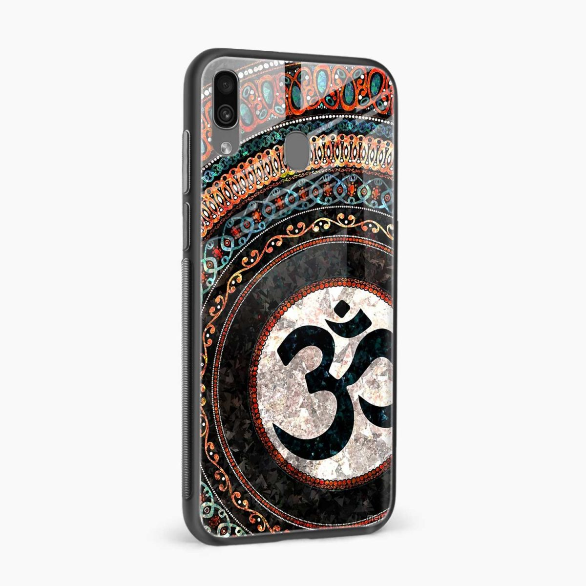 om glass side view samsung galaxy a30 back cover