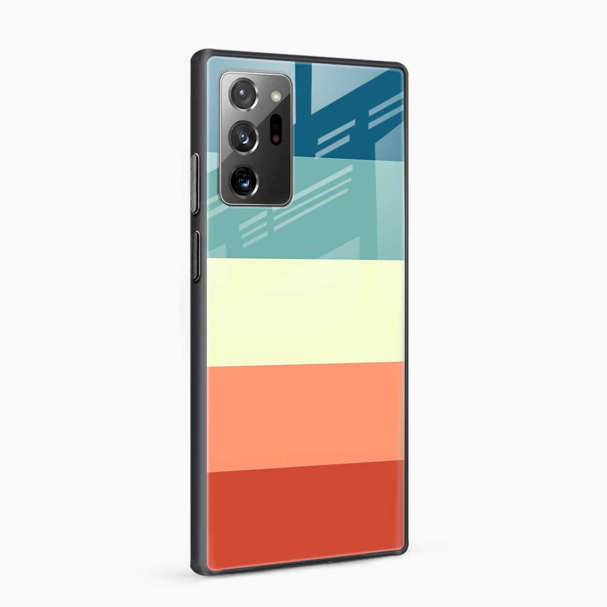 vintage retro graphic pattern side view samsung galaxy note20 ultra back cover