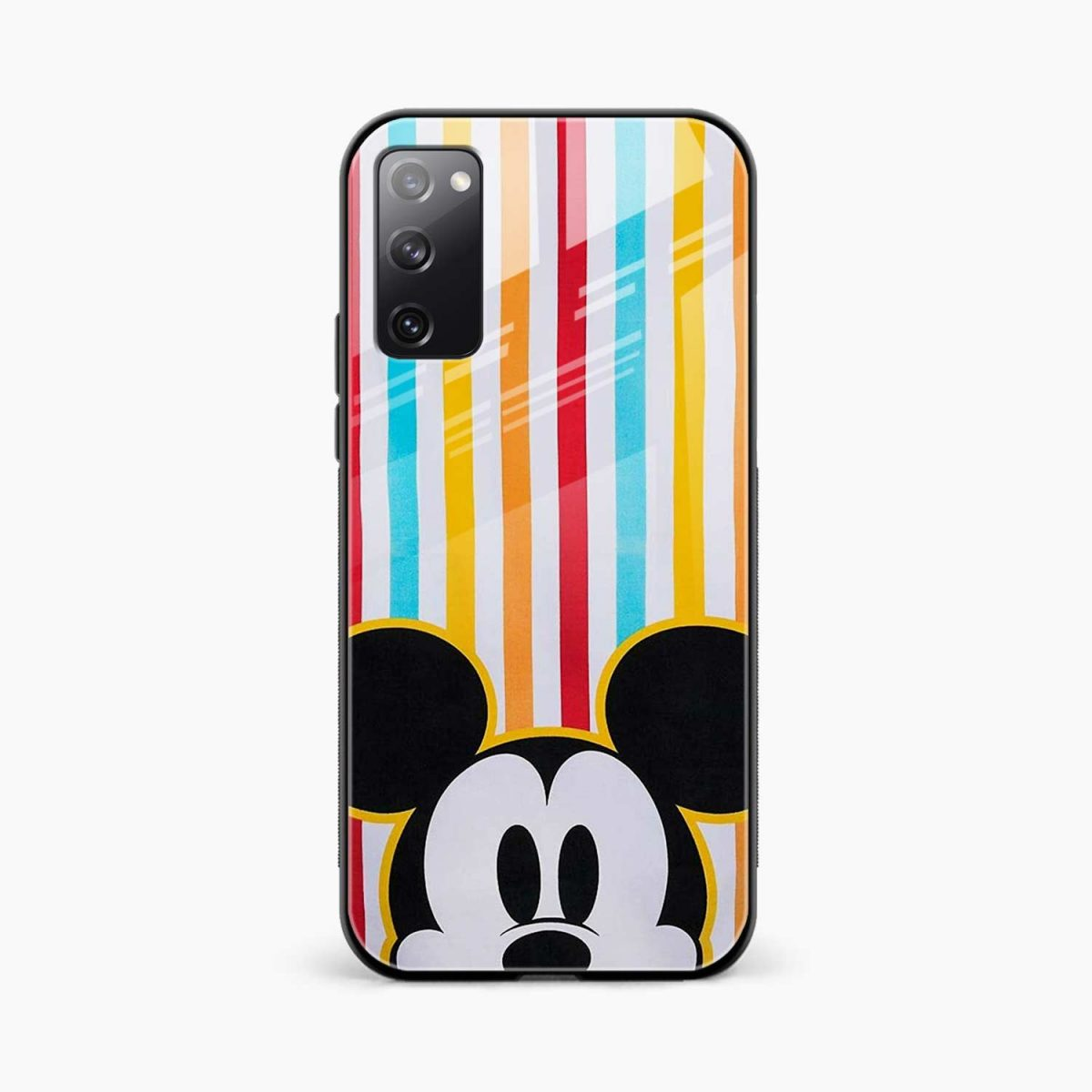 rigid spy mickey mouse front view samsung galaxy s20 fe back cover