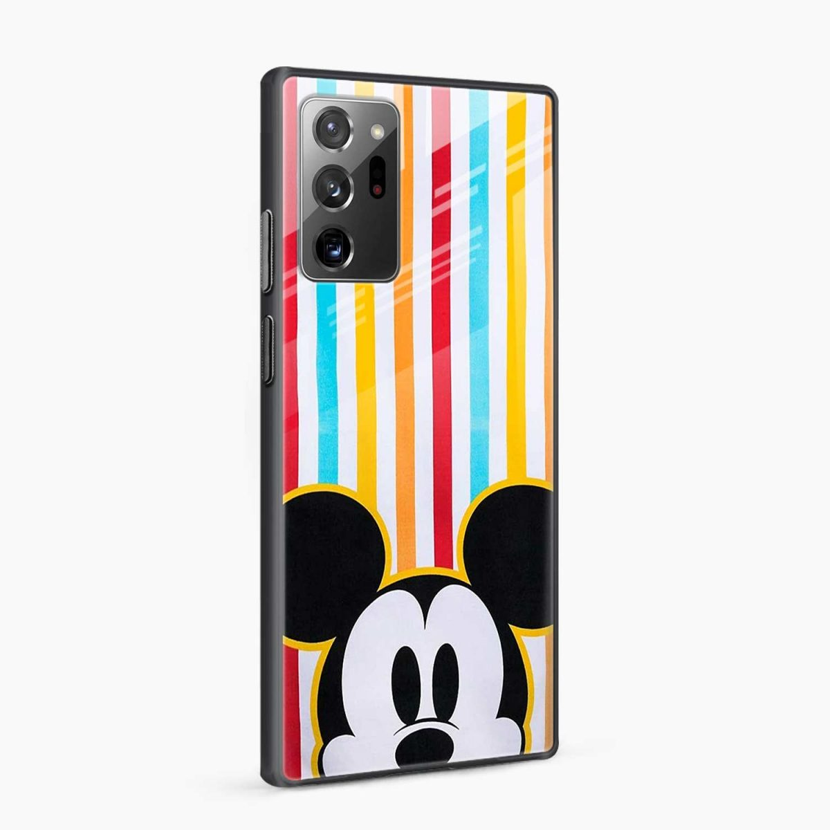 rigid spy mickey mouse side view samsung galaxy note20 ultra back cover