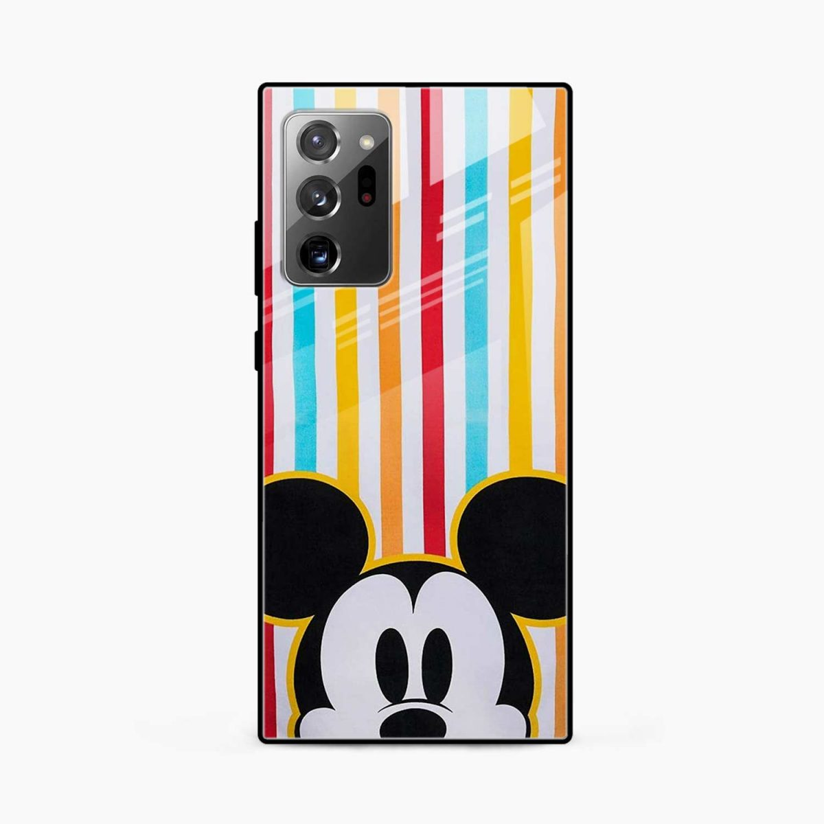 rigid spy mickey mouse front view samsung galaxy note20 ultra back cover