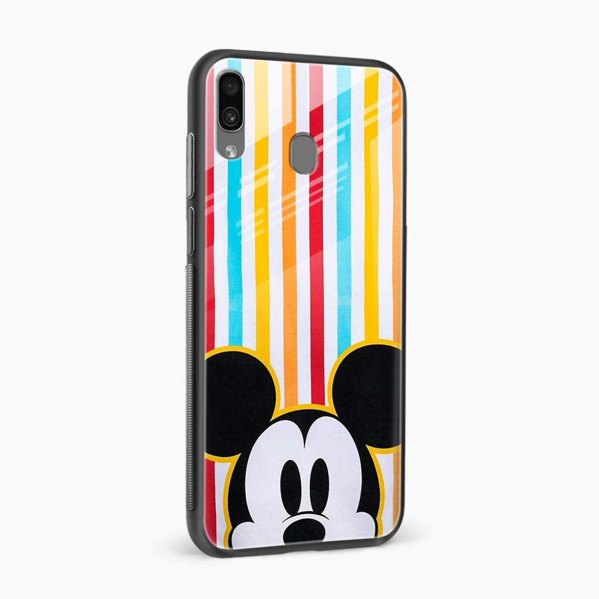 rigid spy mickey mouse side view samsung galaxy a30 back cover