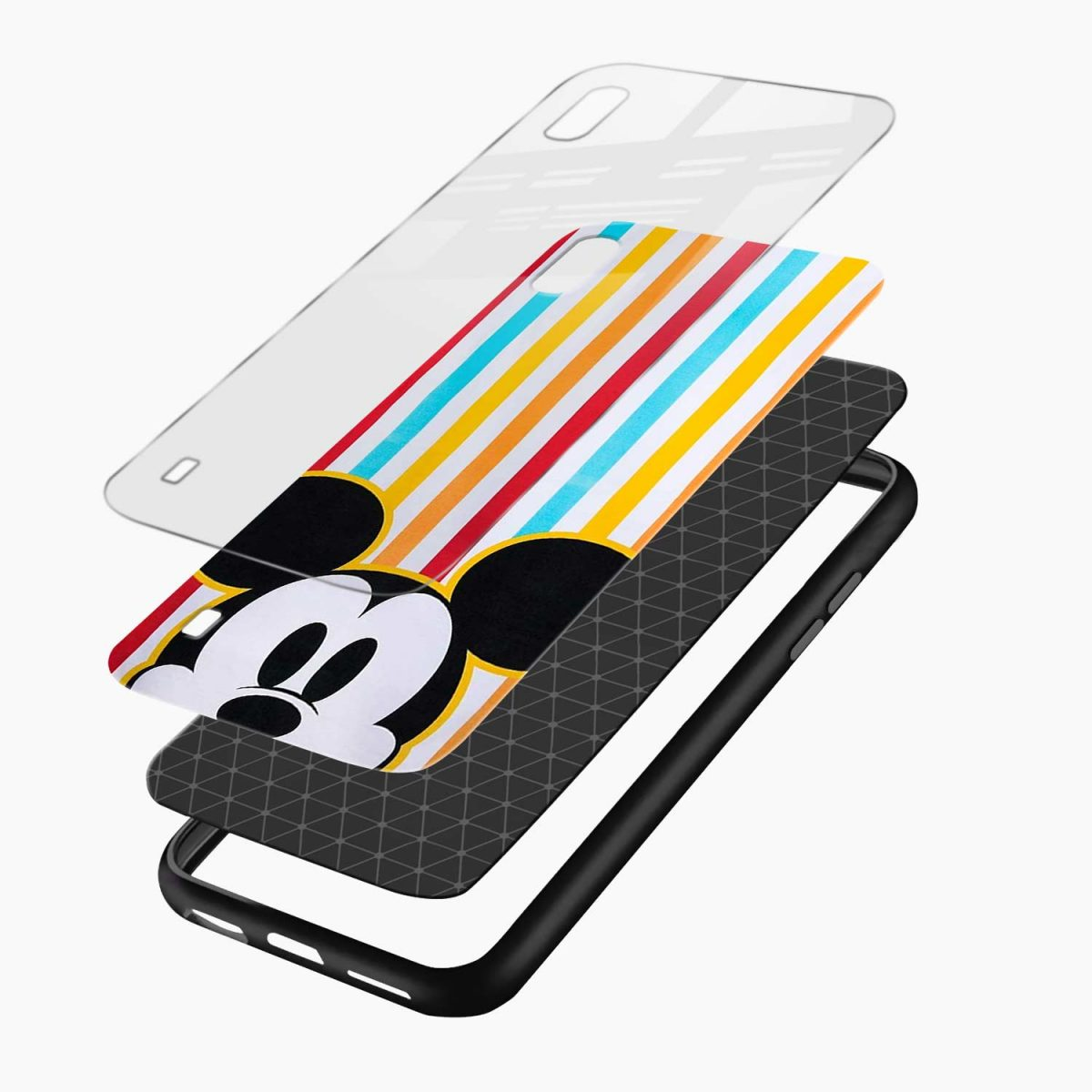rigid spy mickey mouse layers view samsung galaxy a10 back cover
