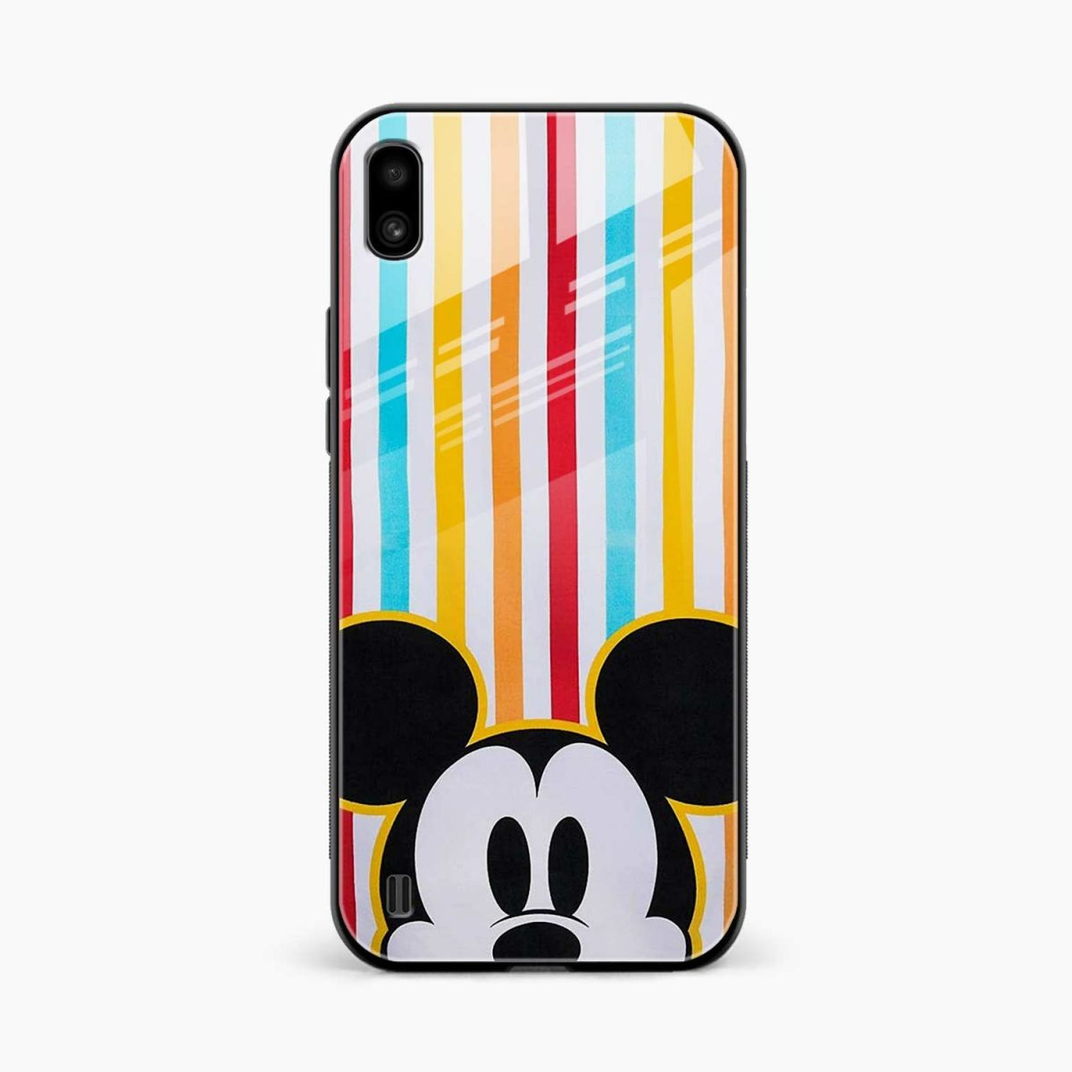 rigid spy mickey mouse front view samsung galaxy a10 back cover