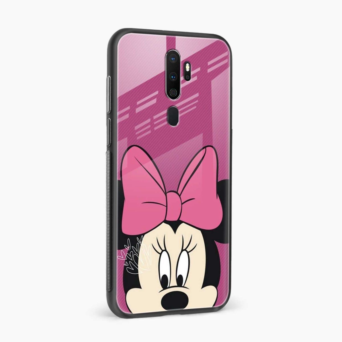 disney minnie cartoon side view oppo a5 back cover