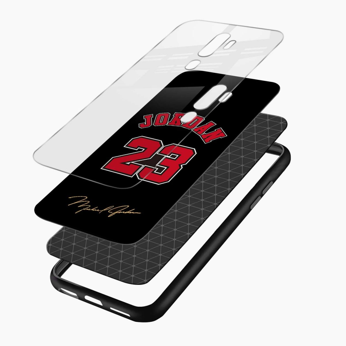 jordan layers view oppo a5 back cover