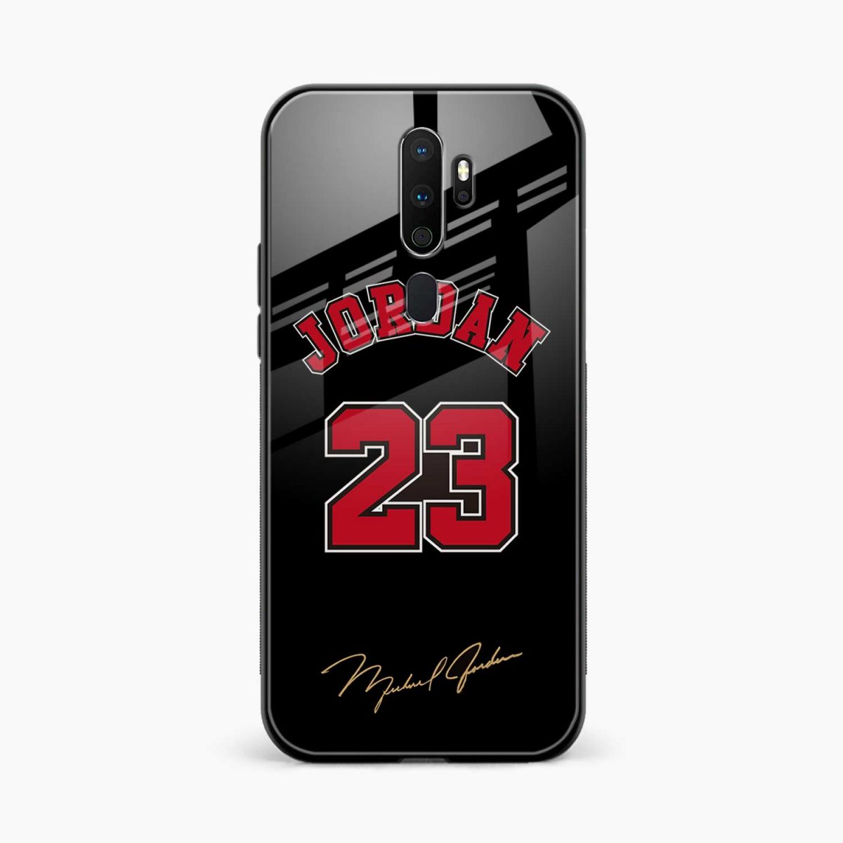 jordan front view oppo a5 back cover