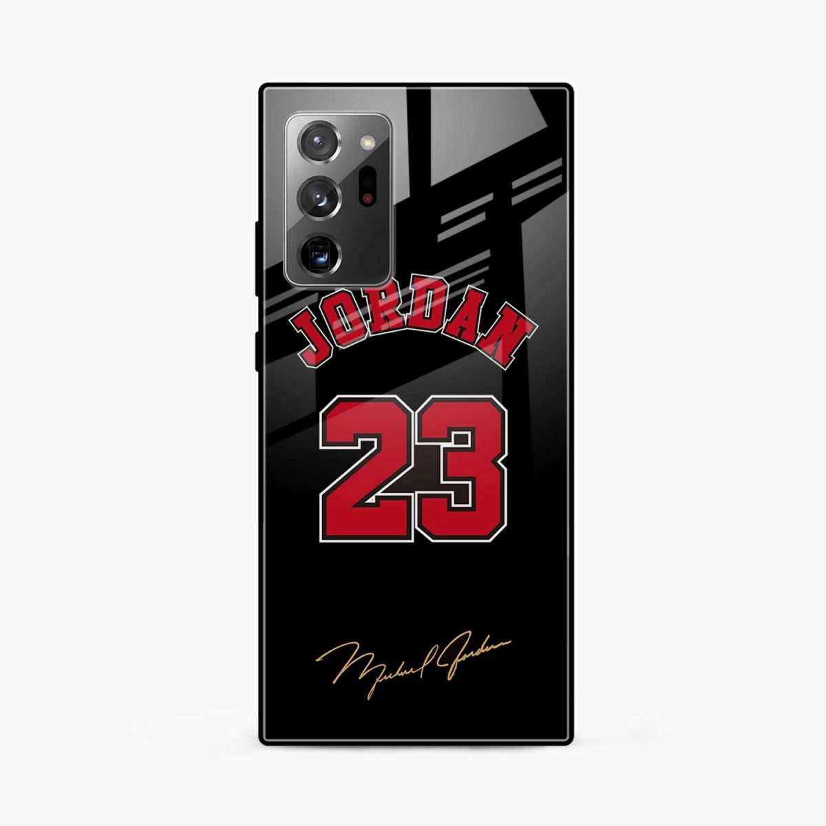jordan front view samsung galaxy note20 ultra back cover