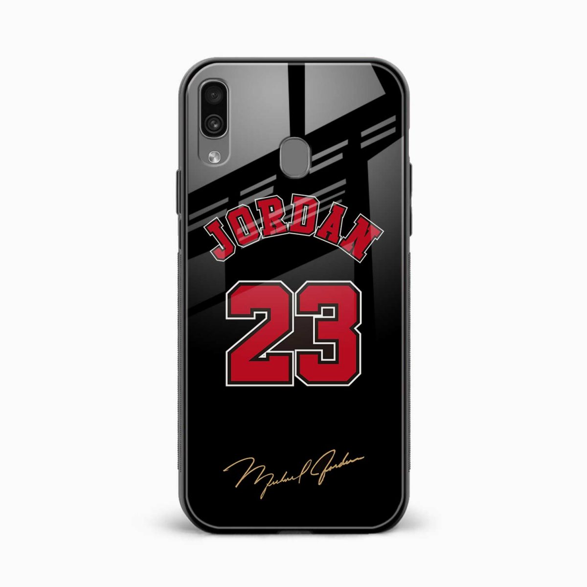 jordan front view samsung galaxy a30 back cover