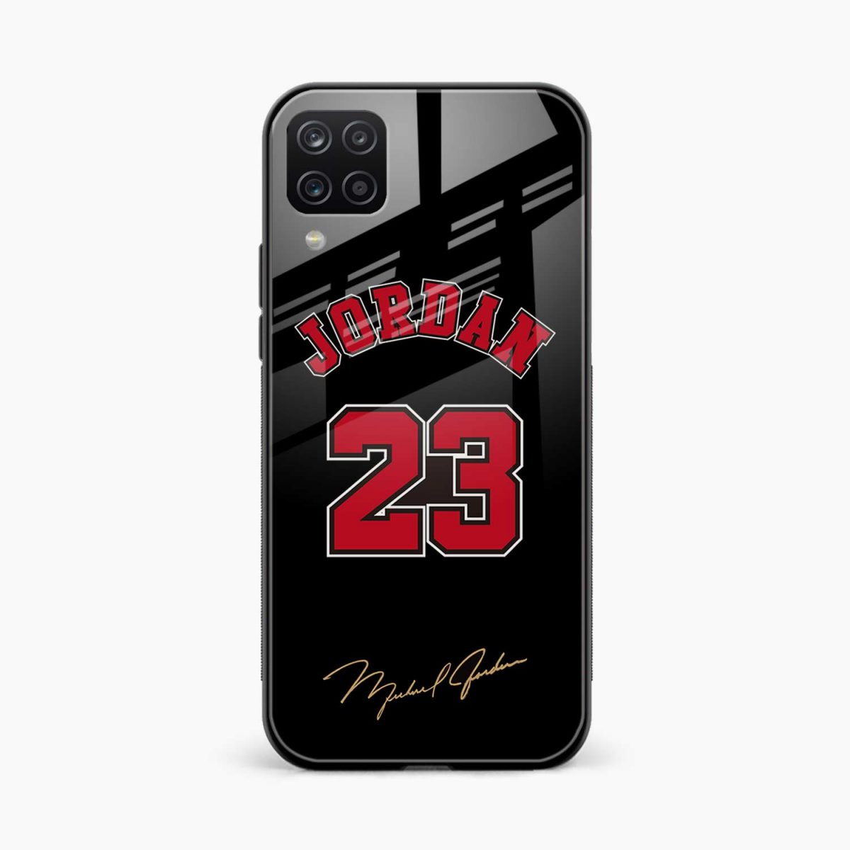 jordan front view samsung galaxy a12 back cover
