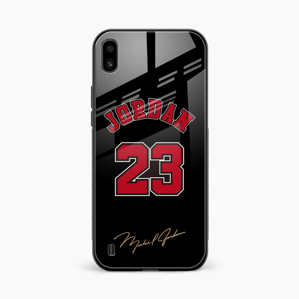 jordan front view samsung galaxy a10 back cover