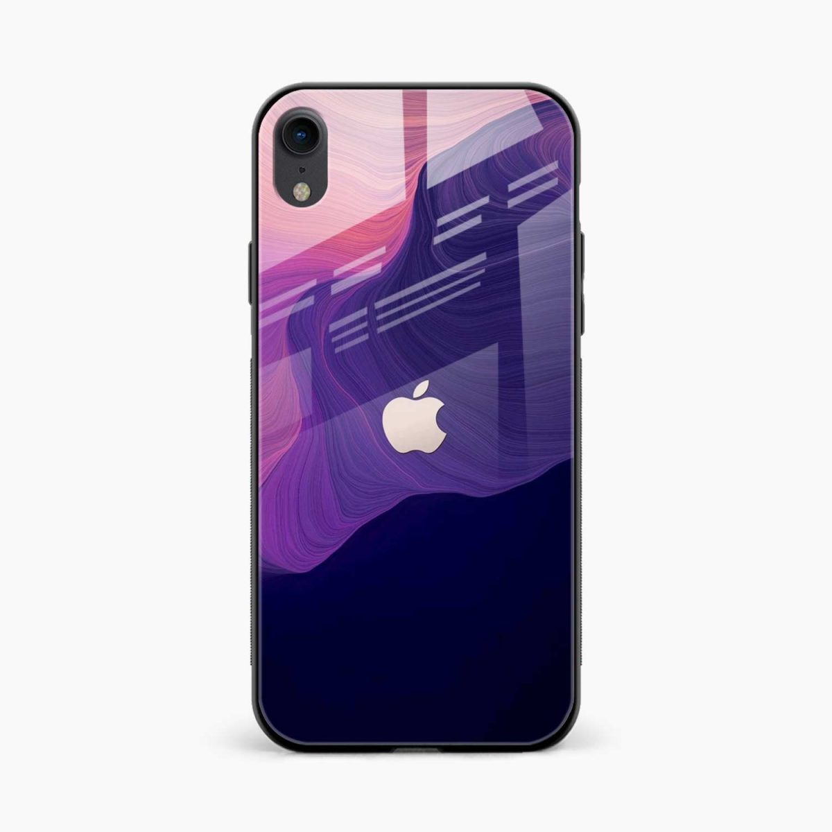 simply classic apple iphone xr back cover front view