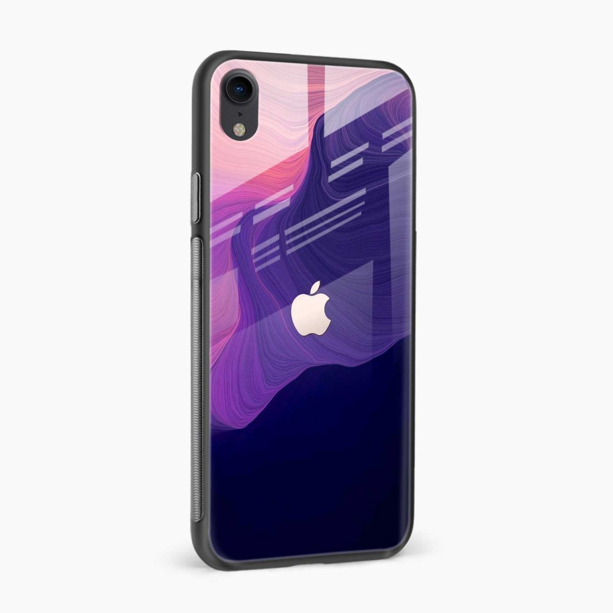 simply classic apple iphone xr back cover side view