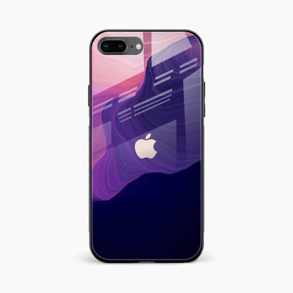 simply classic front view apple iphone 7 8 plus back cover