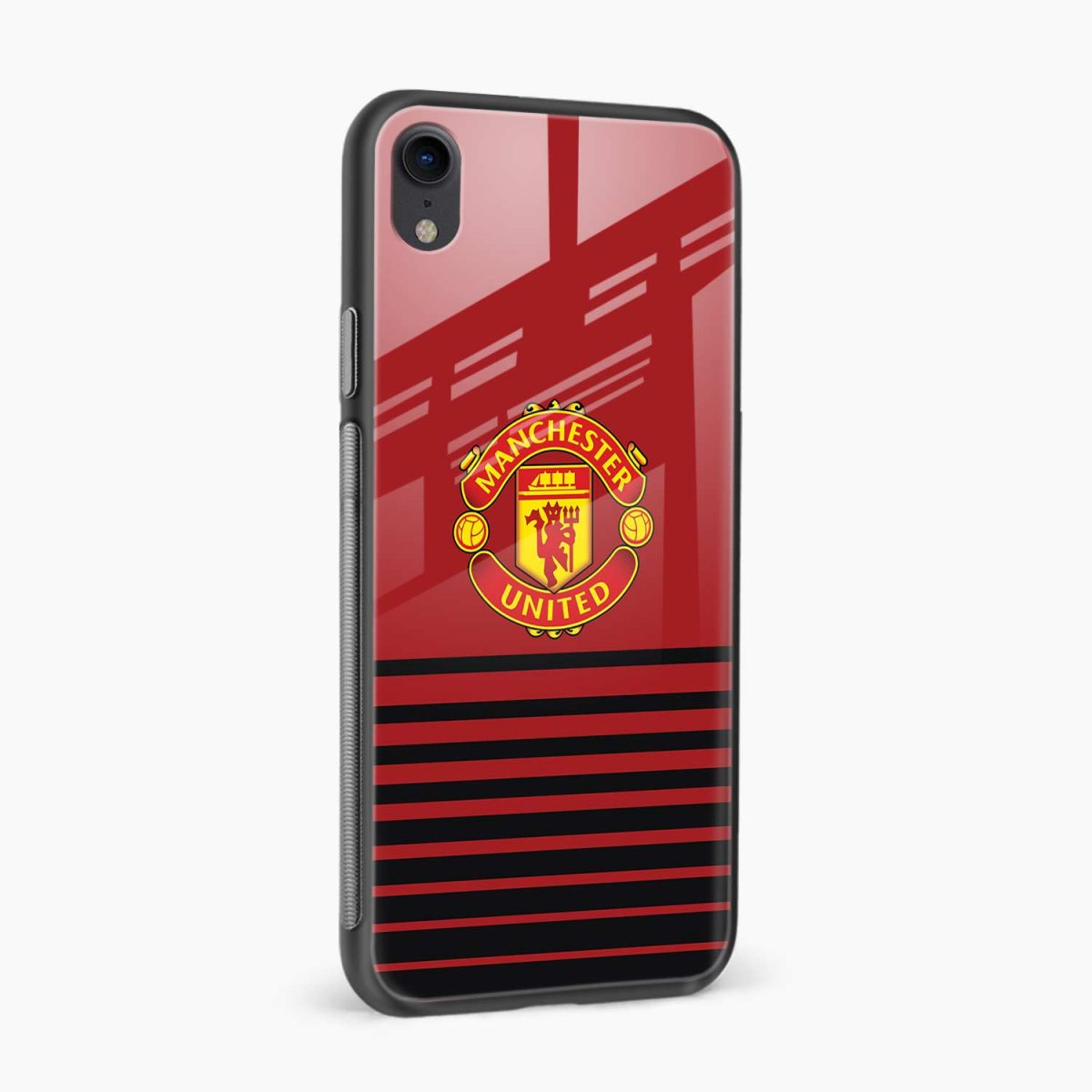 manchester united apple iphone xr back cover side view
