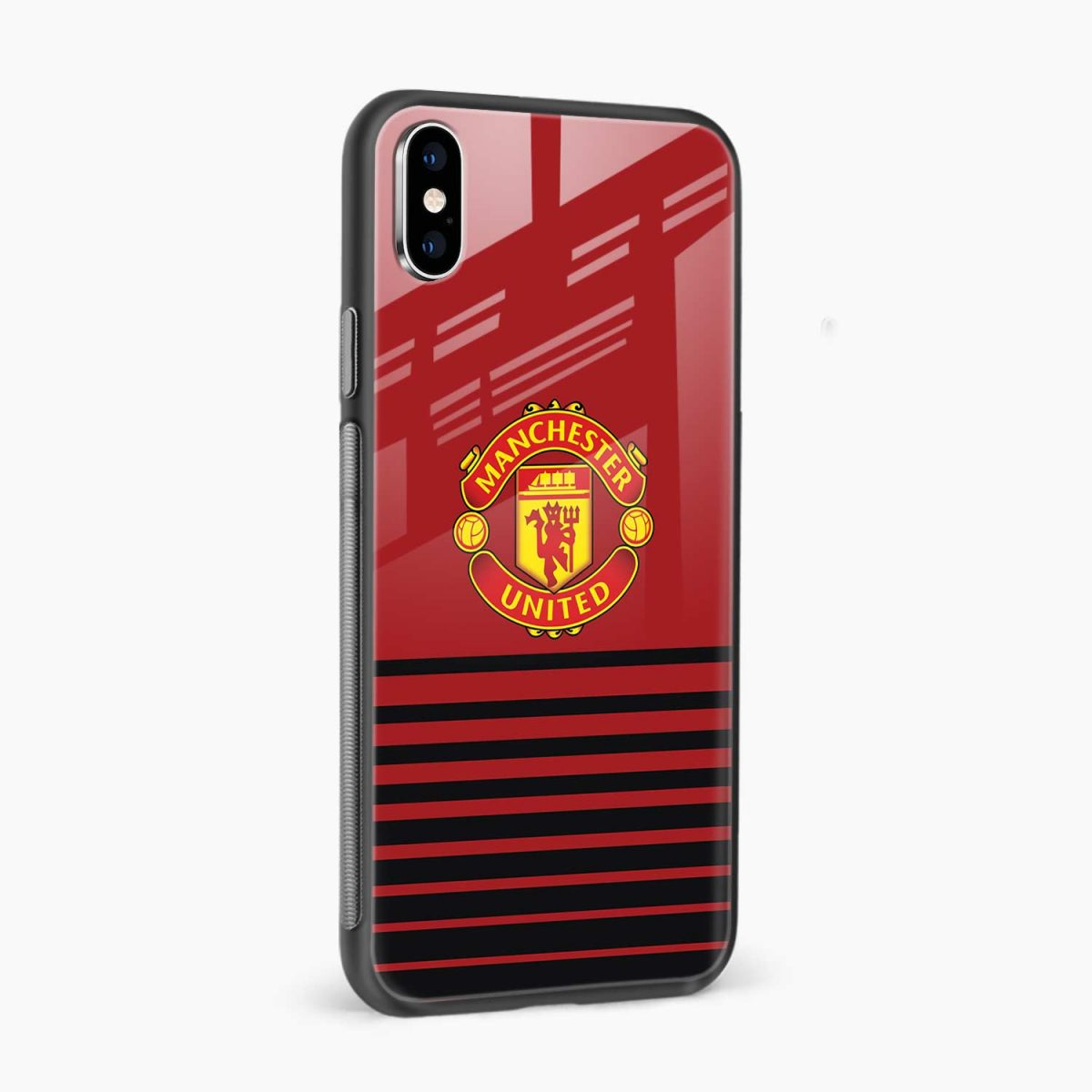 manchester united side view apple iphone x xs max back cover