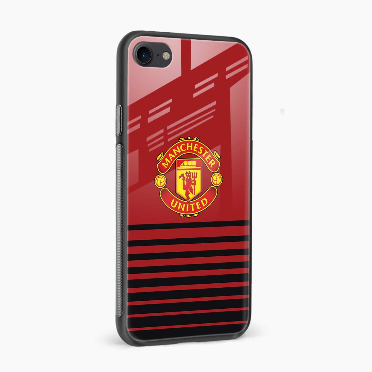 manchester united side view apple iphone 6 7 8 se back cover