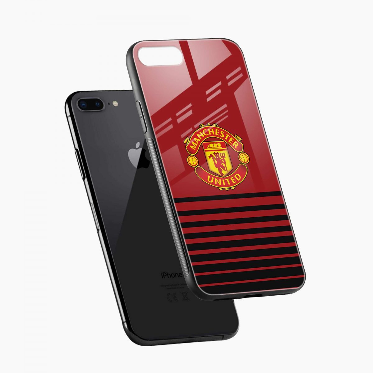 manchester united diagonal view apple iphone 7 8 plus back cover